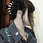 15x15cm濃厚整體感覺髮量夠多的不分線的真髮假髮片頭頂髮片40cm手織雙遞針隨意分線健康真頭皮超低價【手之髮】