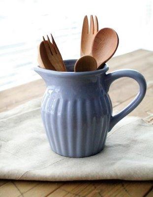 餐具罐【U-style】英國Afternoon tea 奶壺-紫丁 /英國雜貨 醬料壺 生日禮物