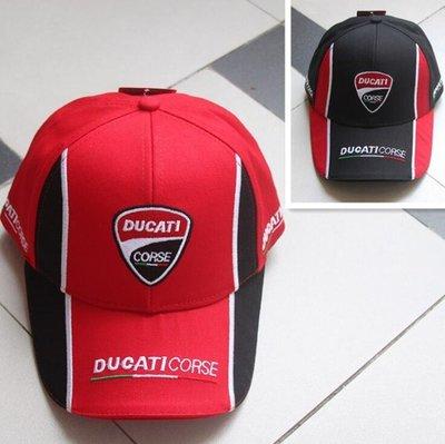 MOTO GP DUCATI 杜卡迪 賽車帽子 棒球帽 機車摩托車騎士帽 遮陽帽