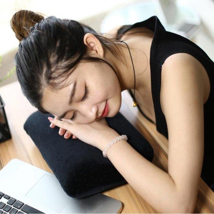 枕頭 午休枕辦公室午睡枕學生趴睡枕抱枕成人午覺小枕頭兒童記憶棉頭枕jj『全館免運,滿千折百』