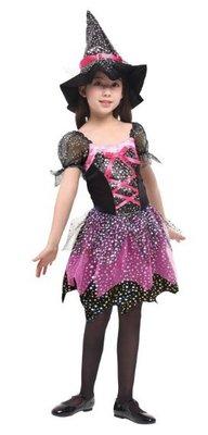 乂世界派對乂萬聖節服裝-萬聖節服裝/女巫服裝/魔法女巫/紫色女巫/紫色魔法女巫