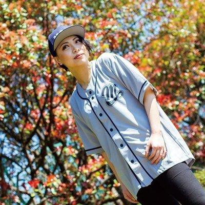 (I LOVE樂多)MOONEYES Area-1 Baseball Shirts 棒球襯衫 棒球衣