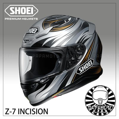 【趴趴騎士】SHOEI Z7 INCISION TC-5 ( Z-7 全罩安全帽 附 Pinlock 防霧片