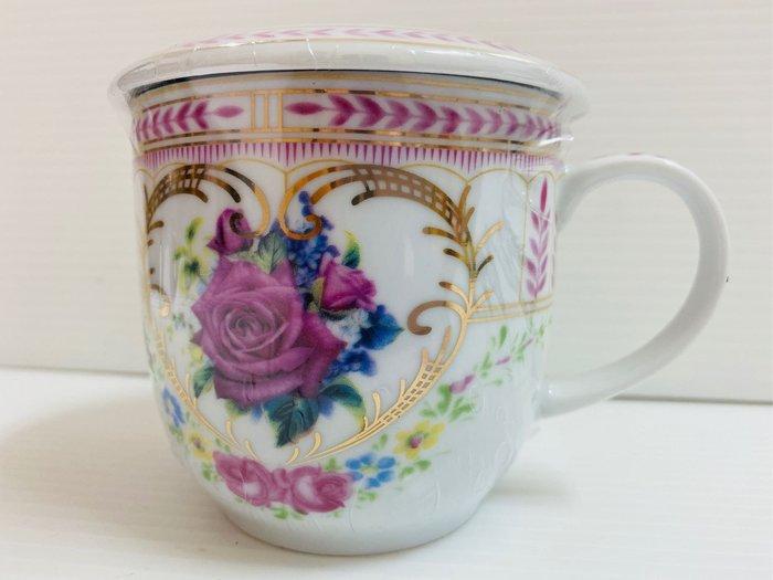 歐式馬克杯附瓷蓋