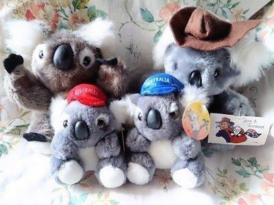 全新收藏品 ~ 澳洲帶回 無尾熊娃娃