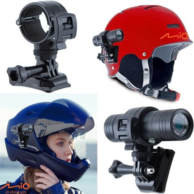 mio MiVue M733 M550 M652 plus安全帽行車記錄器支架金剛王減震固定座機車行車紀錄器車架固定架hero6