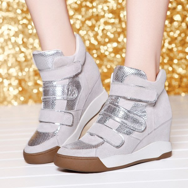 =WHITY=韓國FUPA品牌 韓國製  GF設計師新款街頭時尚真皮內增高鞋  美腿 心機美人 S5HK283