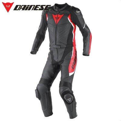 DNS部品 Dainese Avro D1 連身皮衣 兩件式皮防摔衣 皮衣 皮褲