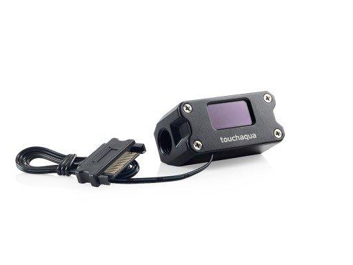 光華CUMA散熱精品*Bitspower BPTA-DTMC 監控系統 水路溫度計 G1/4 SATA電源~現貨