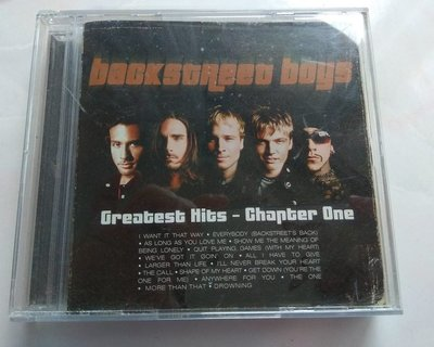 新好男孩 Backstreet Boys Greatest Hits Chapter One 2001精選集