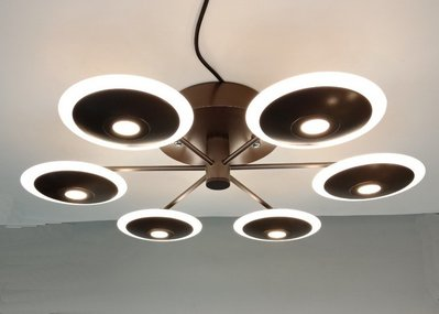 北歐時尚 LED 36W飛碟吸頂燈/房間-書房-臥室-客廳/鋁材+粉體烤漆設計/實品拍攝