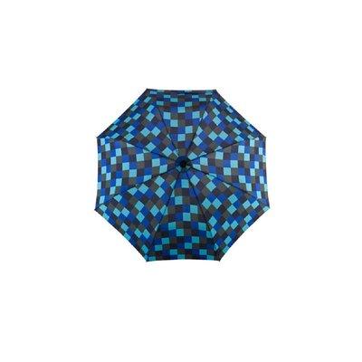 德國[EuroSCHIRM] 全世界最強雨傘 DAINTY / 輕巧迷你晴雨傘(方格亮藍)