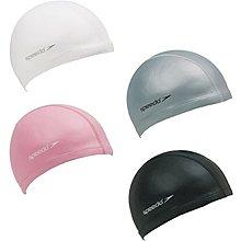 [迦勒] SPEEDO 進階型泳帽 合成泳帽 Ultra Pace 銀/粉紅/黑/白 SD801731____