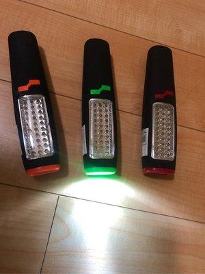 手電筒、工作燈、LED手電筒、附磁鐵手電筒、掛勾、