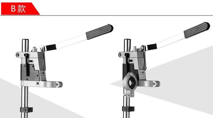 迷你手電鑽支架 台鑽萬用支架微型台鑽 多功能電鑽支架B款電鑽支架(鑄鐵底座)6109B