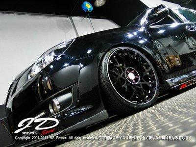 JD-MOTORS日本原裝RAYS VARIANCE V.V.10M(VK) 19吋輪圈 subaru legacy實裝
