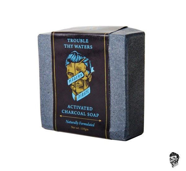 GOODFORIT / 澳洲Modern Pirate Trouble Thy Waters椰殼活性炭手作沐浴修容皂