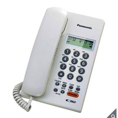 Panasonic 有線電話KX-TSC62 免裝電池,免接變壓器/貼心壁掛設計(黑/白)-白色