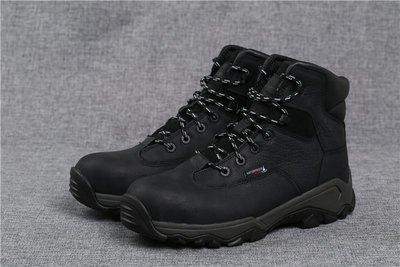 【TOP MAN】 WOLVERINE鋼頭(43碼)牛皮保護防砸防水V型底工作鞋安全鞋鋼頭鞋戶外登山20123122