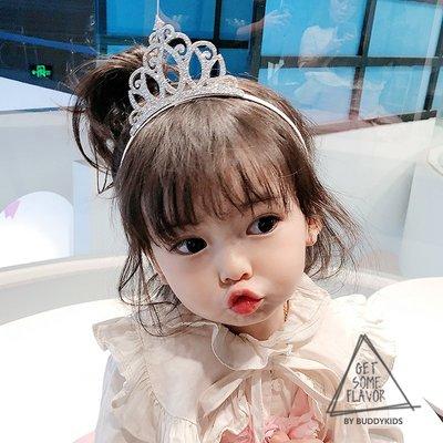 cool studio飾品韓國進口buddy kids兒童髮飾亮片皇冠髮箍洋氣公主女童寶寶頭箍