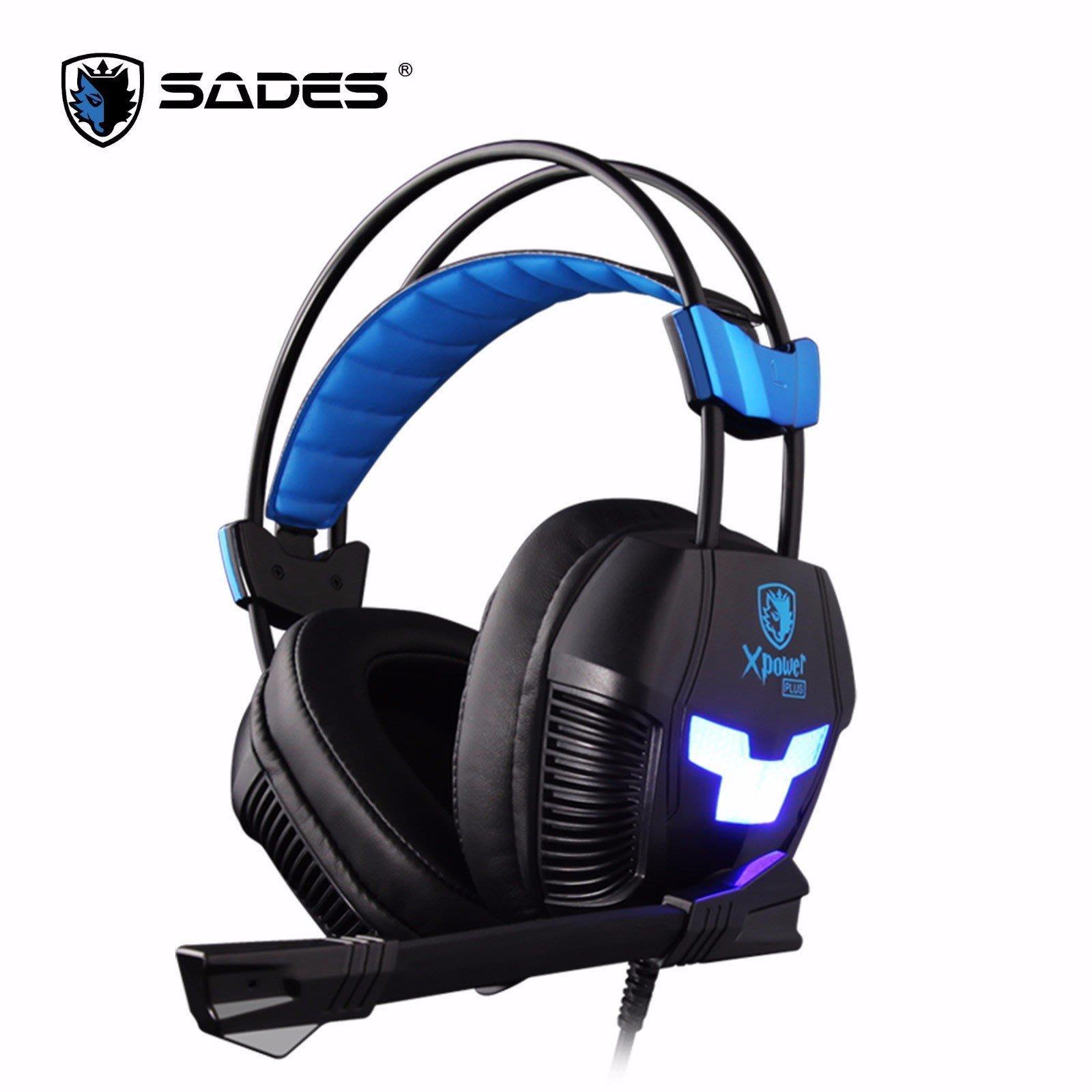 【鳥鵬電腦】SADES 賽德斯 SA-706S XPOWER PLUS 極限之力S 震動式電競耳麥 USB 線控