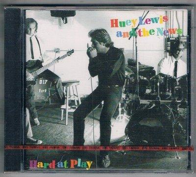 [鑫隆音樂]西洋CD-HUEY LEWIS AND THE NSWS/HARD AT PLAY{CDP7933552}