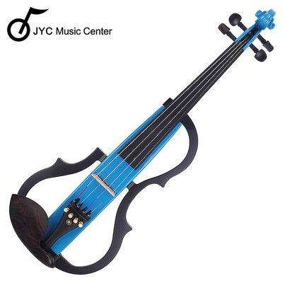 JYC Music JYC SV-150S靜音提琴(藍色)~雙輸出/三段EQ