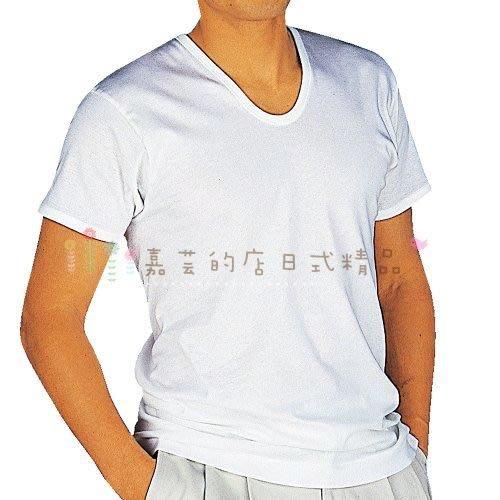 新包裝 日本製 日本郡是GUNZE男士U領棉質短袖內衣 日本製 男性夏季內衣 吸濕排汗 快適工房