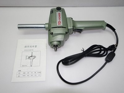 【新宇電動五金行】台灣製造 英得麗 BU-PN3 超強力水泥攪拌機 電動攪拌機 打泥機 750W!(特價)