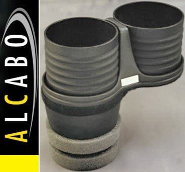 【JP.com】日本原裝 空運預購 ALCABO BMW F07/F10/F11專用置杯架 (黑色)