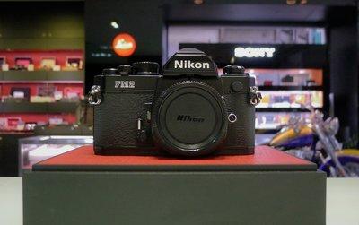 【日光徠卡】Nikon FM2 黑 單機身 單眼底片相機 + MD-12 電動捲片手把 二手 9成新