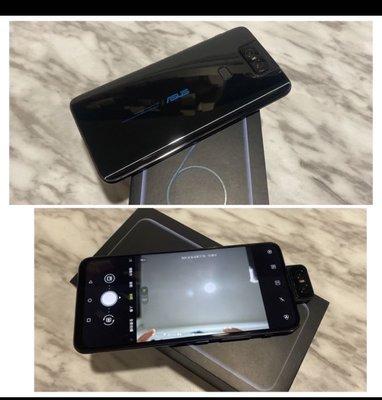 ☂️二手機ASUS zenfone6 (zs630kl 128G 雙卡雙待 6.4吋 人臉辨識)