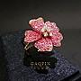 【高品珠寶】設計款紅寶石戒指 女戒 18K #3...