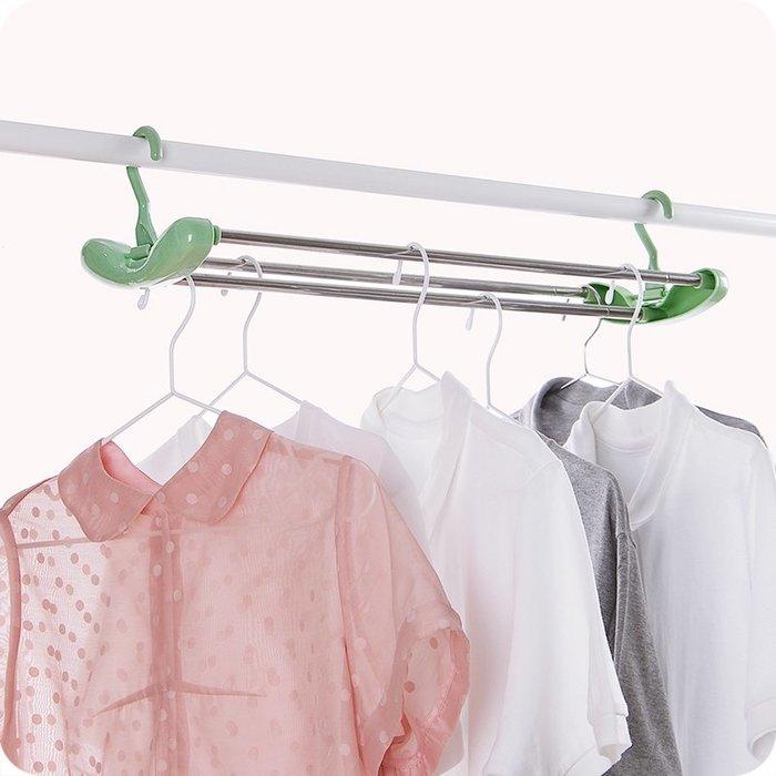 Ordinary shop 簡約 收納用品加長可伸縮曬床單衣架不銹鋼晾衣架兒童浴巾衣服晾曬架曬被單掛架居家必備