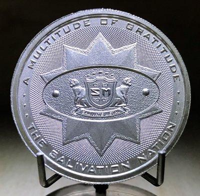 «自由銀» Salivate Metal 高浮雕款-流涎金屬銀幣 (2 toz=62.2g)