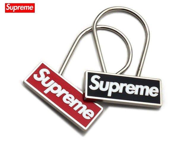 【超搶手】全新正品2015 AW 秋冬 Supreme Clip Box Keychain 鑰匙圈 黑色