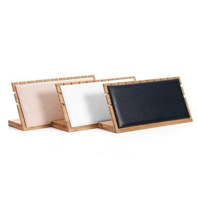 hello小店-天然竹木項鏈展示架L形吊墜架珠寶首飾展示架#飾品架#展示道具#