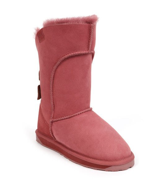 INDiCE ↗ EMU Australia Alba 頂級羊皮防水高筒雪靴 鐵銹紅