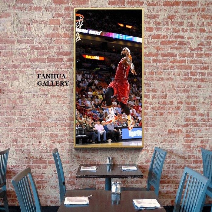 C - R - A - Z - Y - T - O - W - N Lebron雷暴龍詹姆士NBA籃球明星掛畫湖人隊掛畫