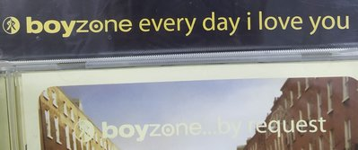 二手專輯[boyzone every day I love you+….by request]2張CD專輯,1999年出