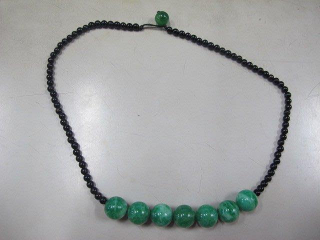 二手舖 NO.3699 天然玉 玉石項鍊 首飾飾品
