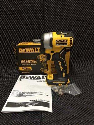 【巷內工具】全新 DEWALT 得偉 20V DCF809 無刷 板手機 四分板手 電動板手 套筒板手 非 DCF887