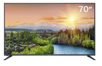 SHARP 夏普 70吋 UHD  日本原裝液晶面板 安卓智慧連網 液晶電視《4T-C70BK1T》