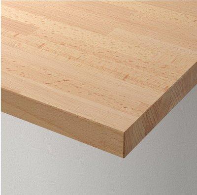 【蘿莉】IKEA宜家GERTON杰頓桌面山毛櫸155*75厘米