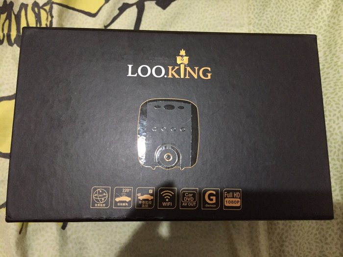{藤井小舖}【錄得清 LOOKING】LD-8 行車記錄器 Full HD1080P 360度全景車內監控 220度超廣