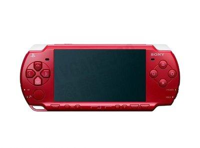 【二手主機】SONY PSP 2007型 主機 紅色 附充電器 裸裝【台中恐龍電玩】