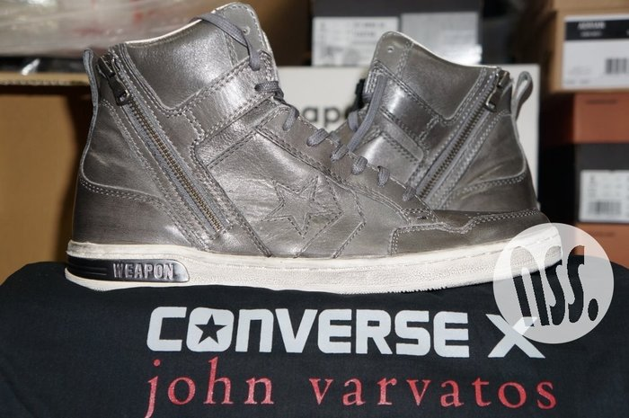 特價「NSS』Converse John Varvatos JV Weapon Zip Casual US 9 拉鍊