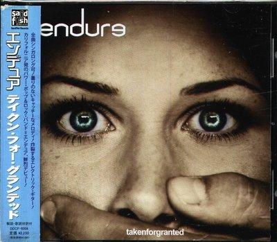 K - endure - Taken For Granted - 日版