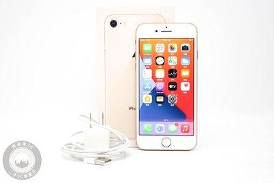 【高雄青蘋果3C】Apple iPhone 8 64G 64GB 金 4.7吋 iOS 14.3 #59269