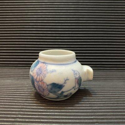 [ 三集 ] 小型鳥 飼料杯 適綠繡眼等 高約:4公分 材質:瓷 E9